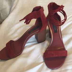 White House Black Market Shoes - Red comfy heals